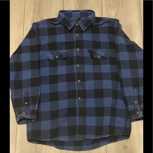 Field & Stream Blue/Black Flannel Lumberjack